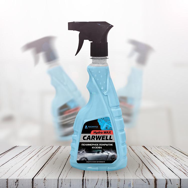 Полимерное покрытие carwell hydro wax